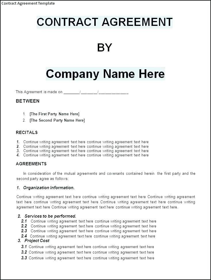 Shareholders Agreement Template Two Parties