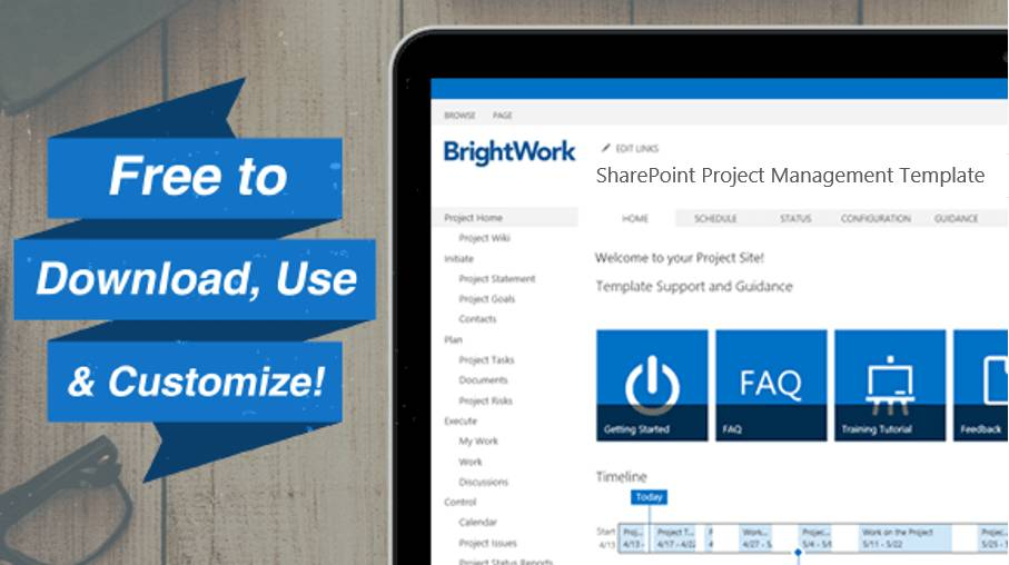 Sharepoint Online Project Management Templates