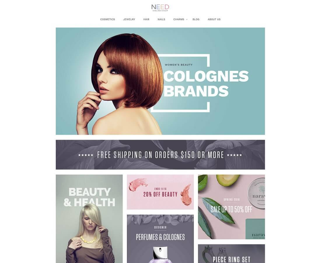 Simple Free Responsive Magento Templates