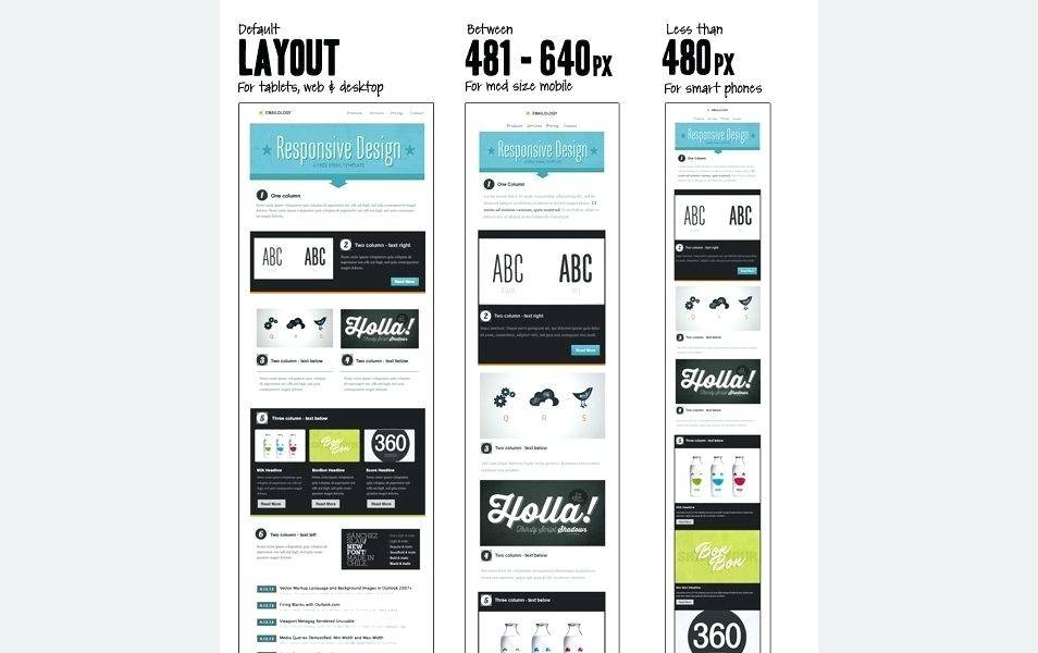 Simple Responsive Newsletter Template