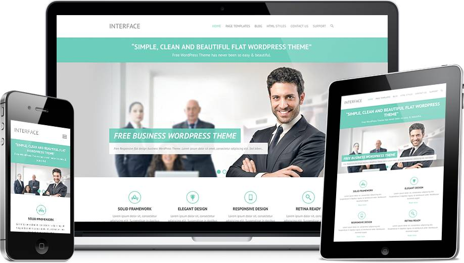 Simple Responsive Wordpress Templates