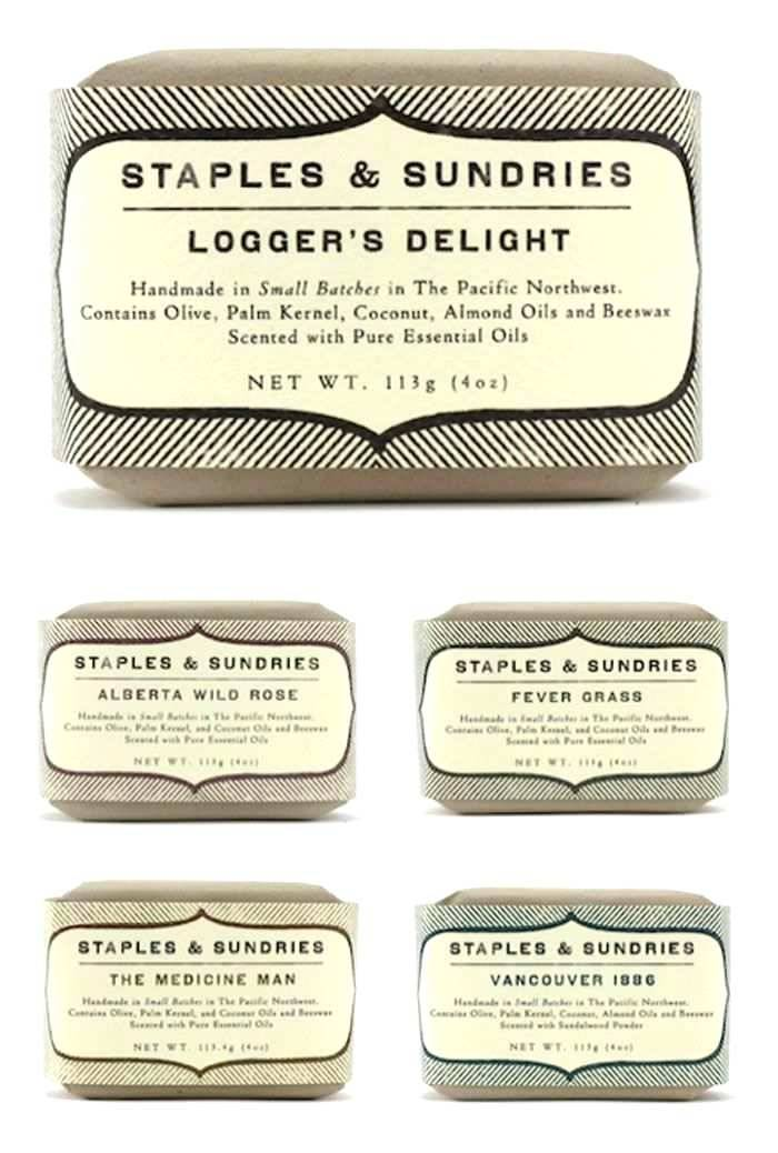 Soap Cigar Label Template