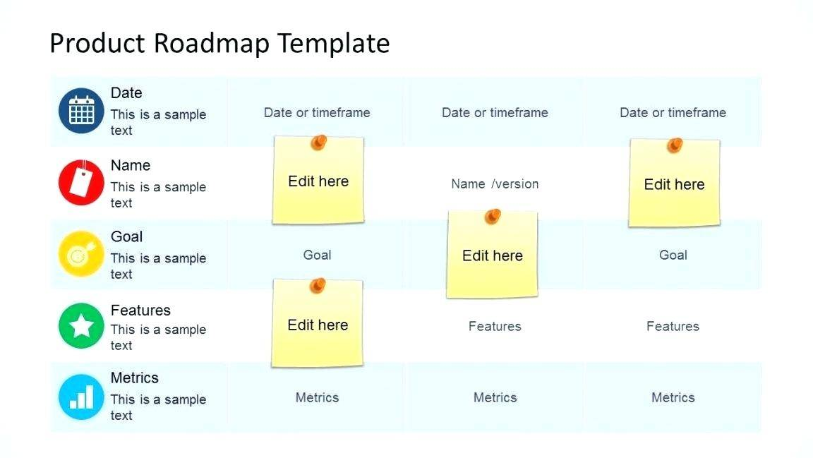 Software Product Development Roadmap Template
