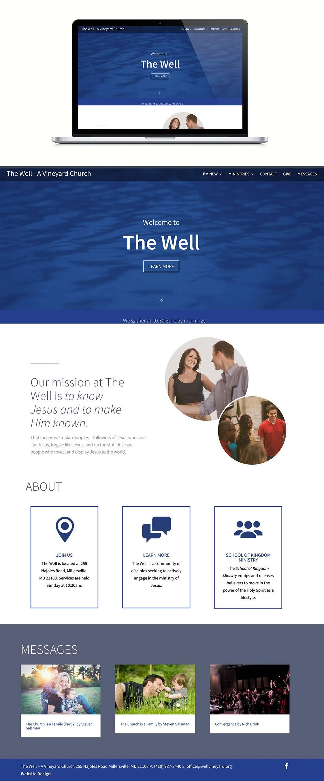 Squarespace Church Website Templates