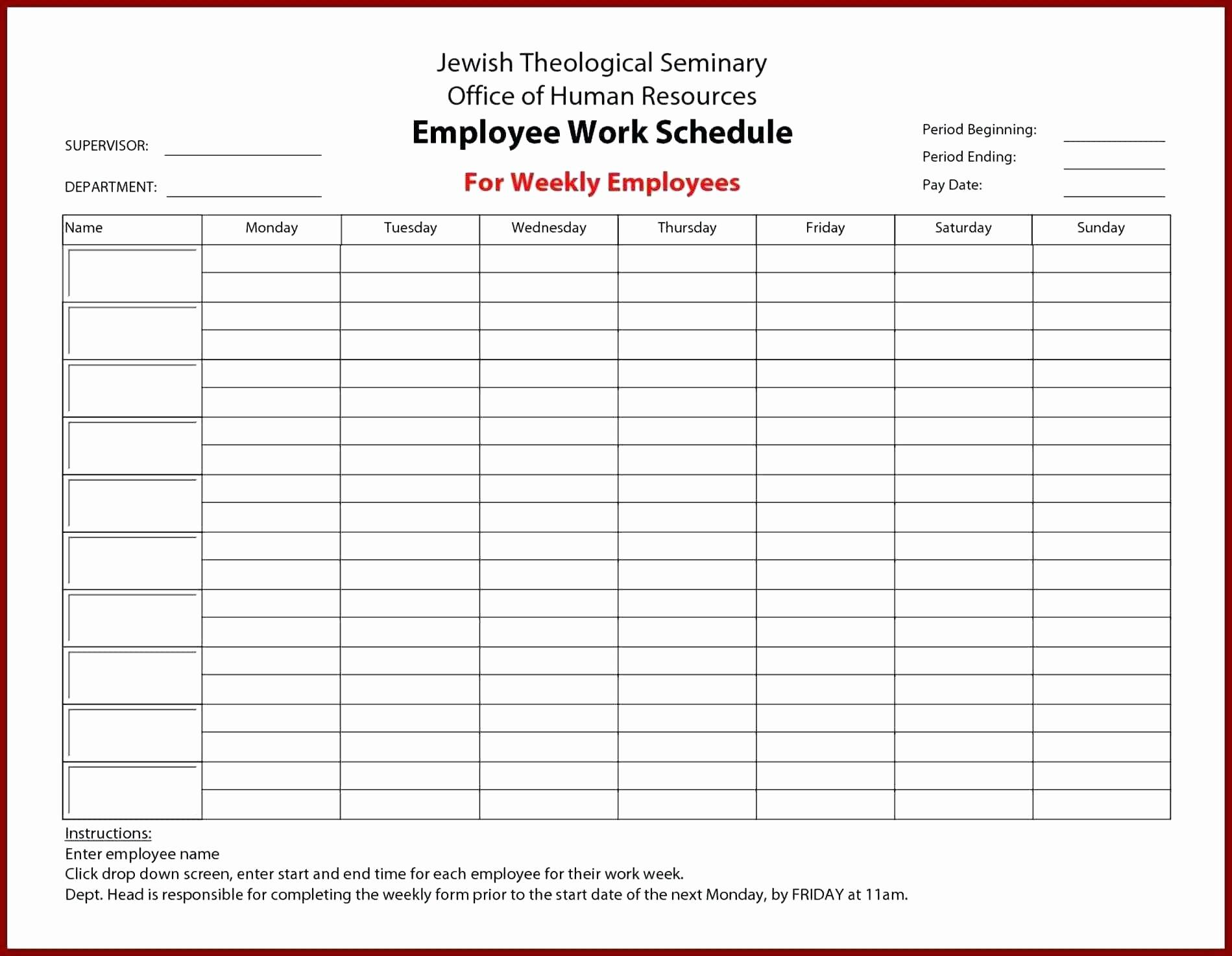 Staffing Capacity Planning Template
