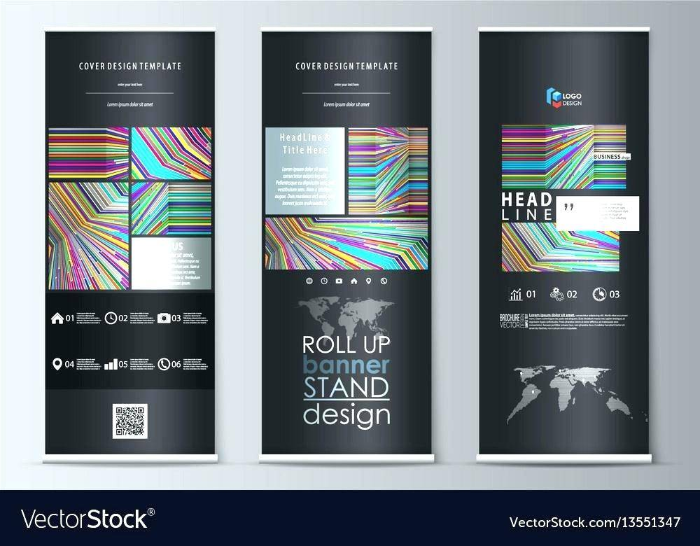 Stand Banner Template Psd Free