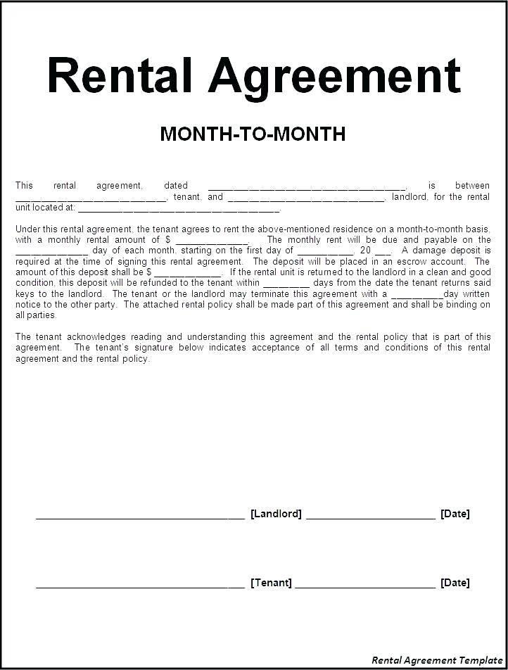 Garage Storage Lease Agreement Form Templates Odqzmzm