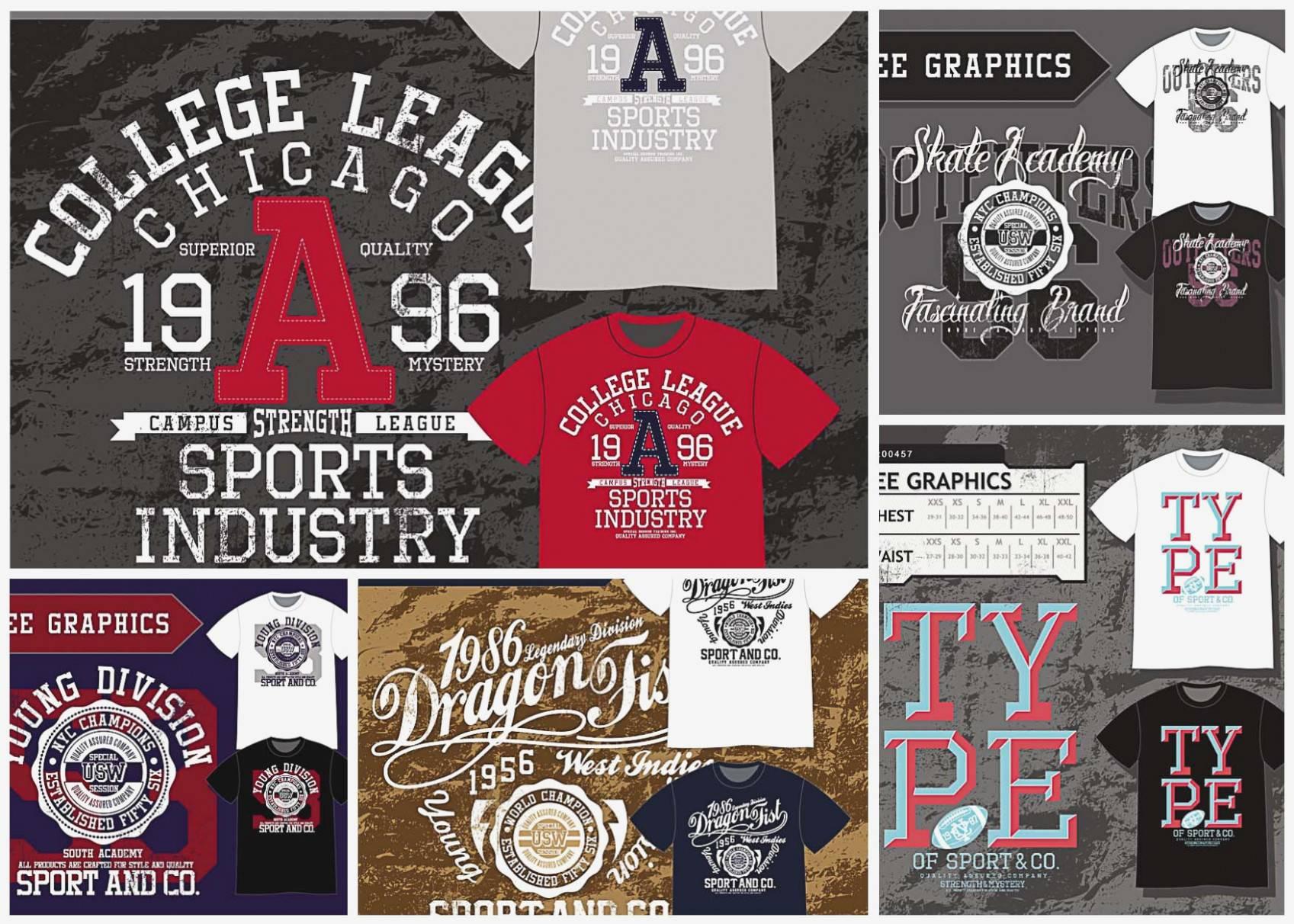 T Shirt Design Template Free Download