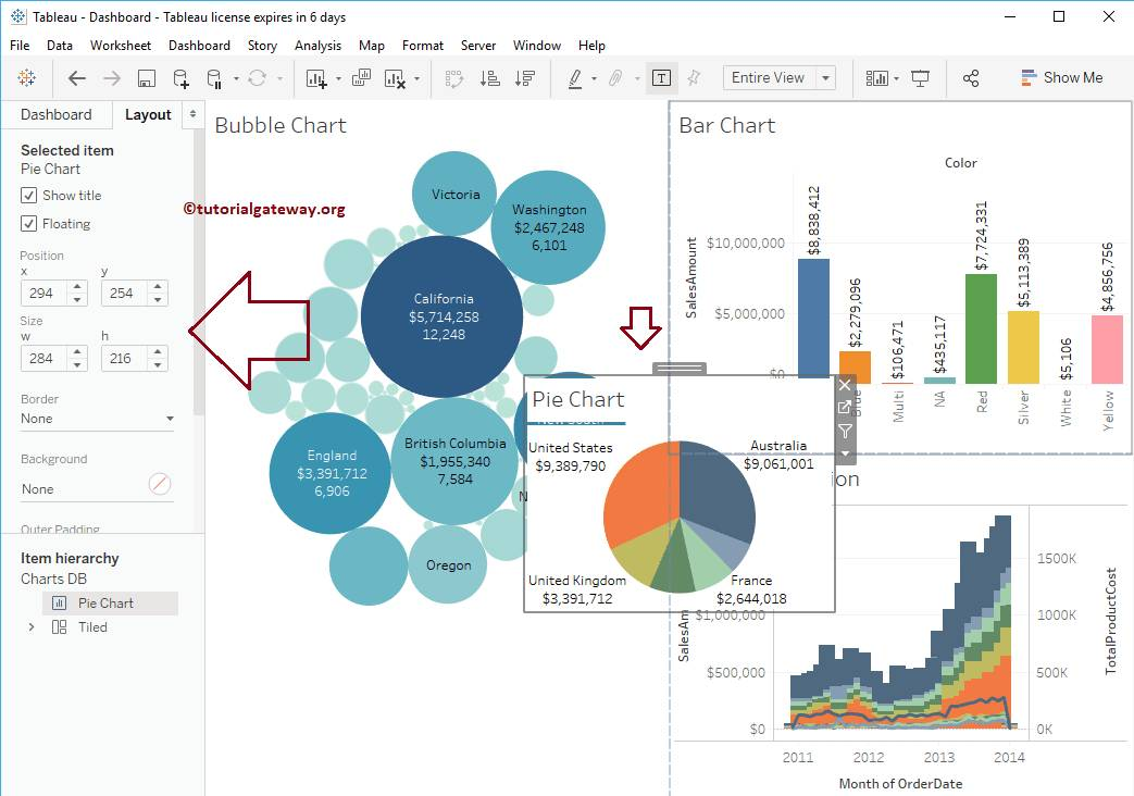 Tableau Dashboard Format Container - Templates #155398