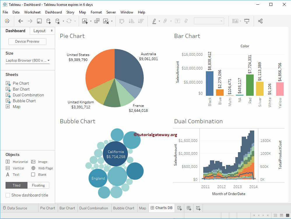 Tableau Format Dashboard Size - Templates #155446 | Resume