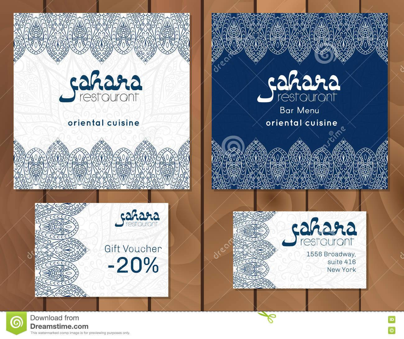 Template For Restaurant Menu Card