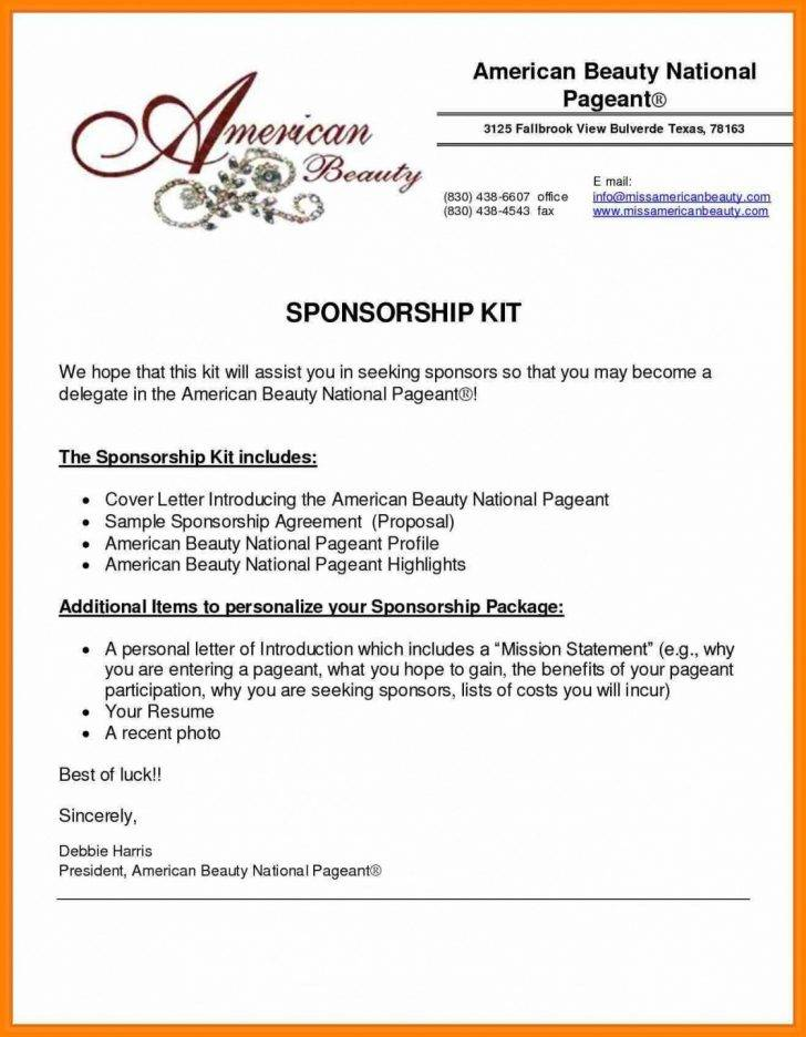 Template Proposal Sponsorship Doc