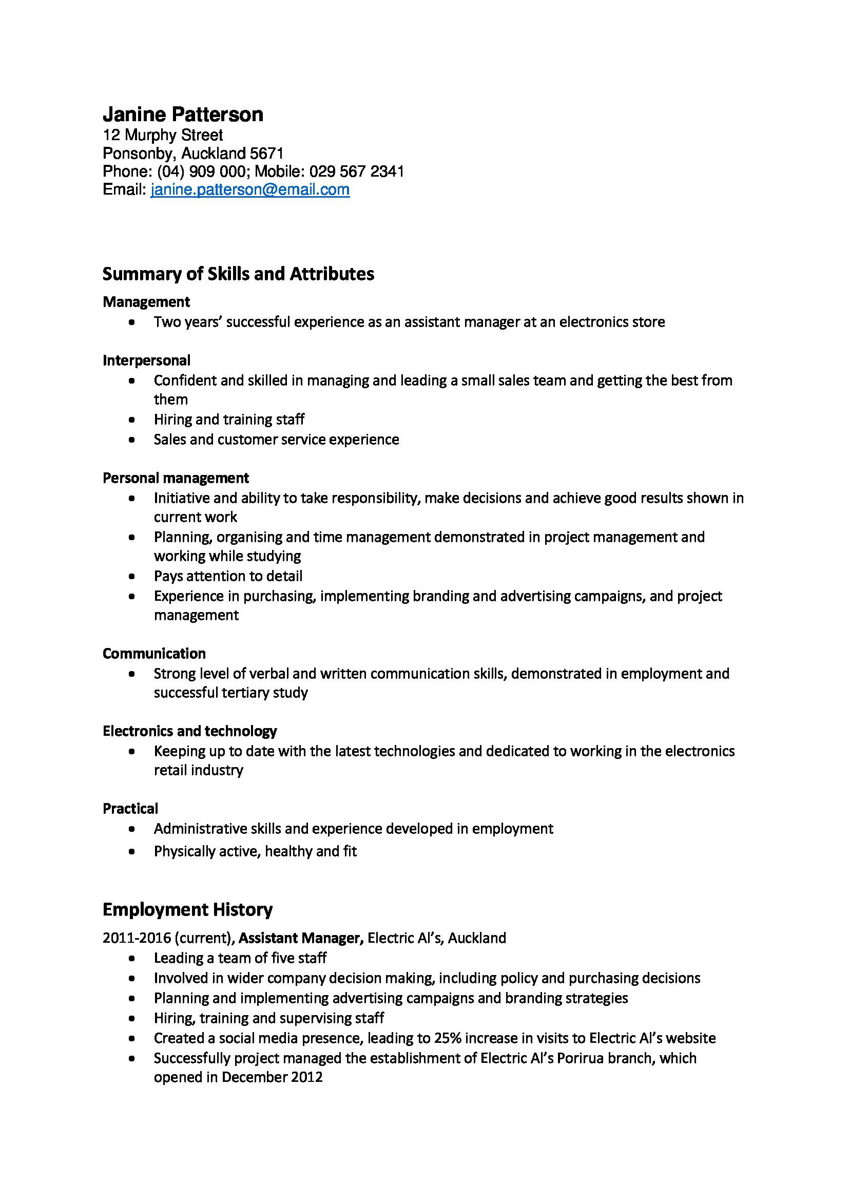 Templates Of Cv Cover Letter