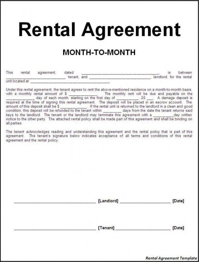 Tenancy Agreement Template Ni