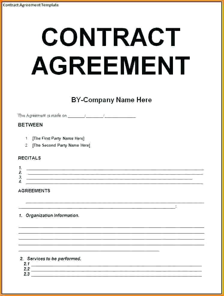 Termination Of Contract Template Pdf