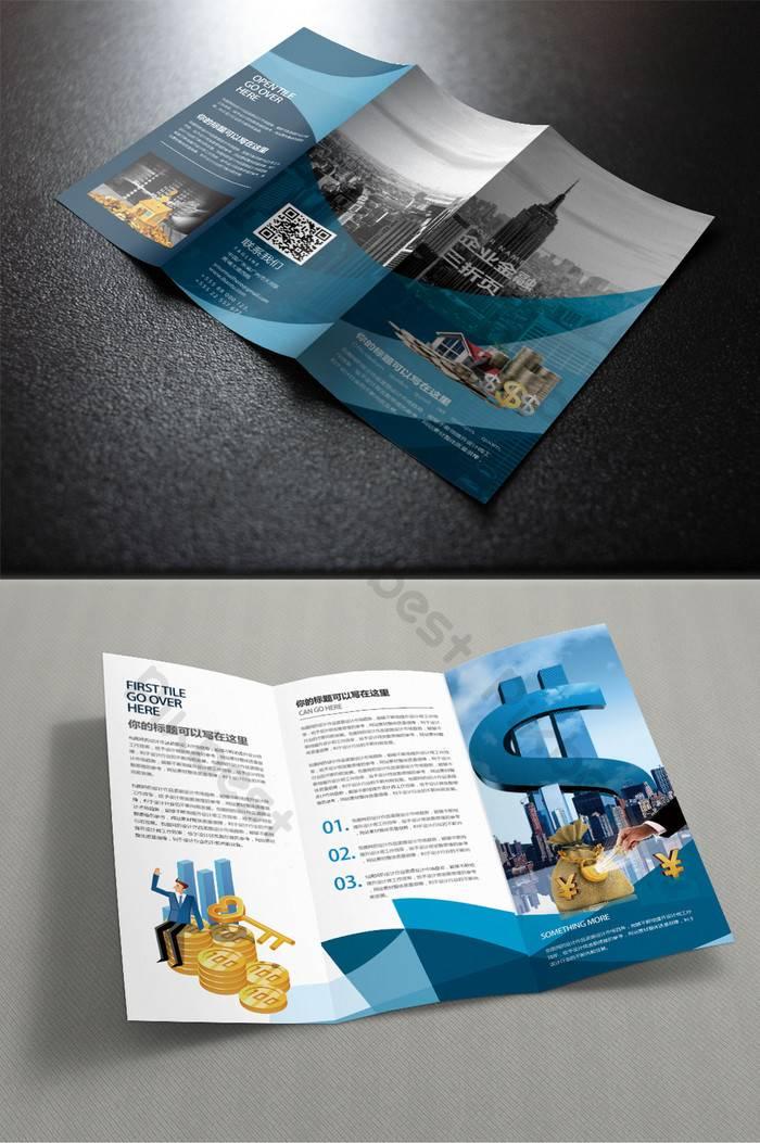Tri Fold Brochure Template Free Download Ai