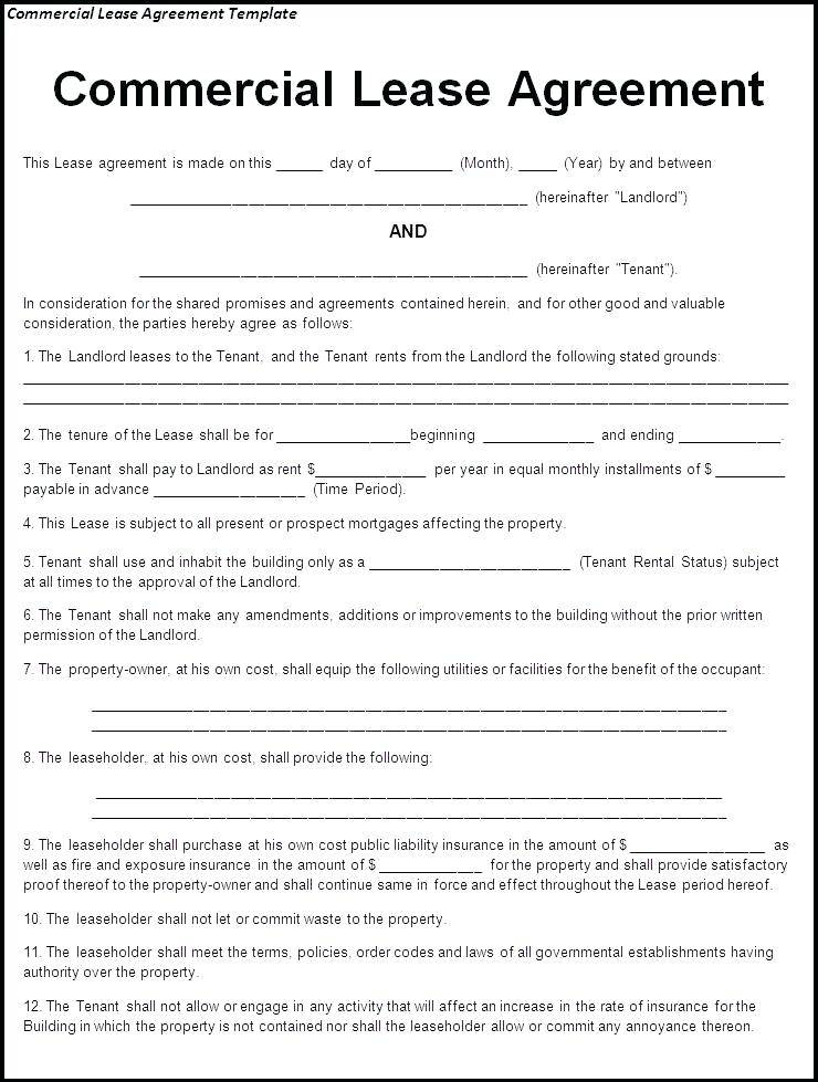 Vacation Rental Property Contract Template