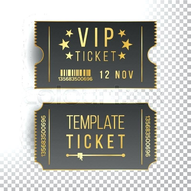 Vip Ticket Invitation Templates Free