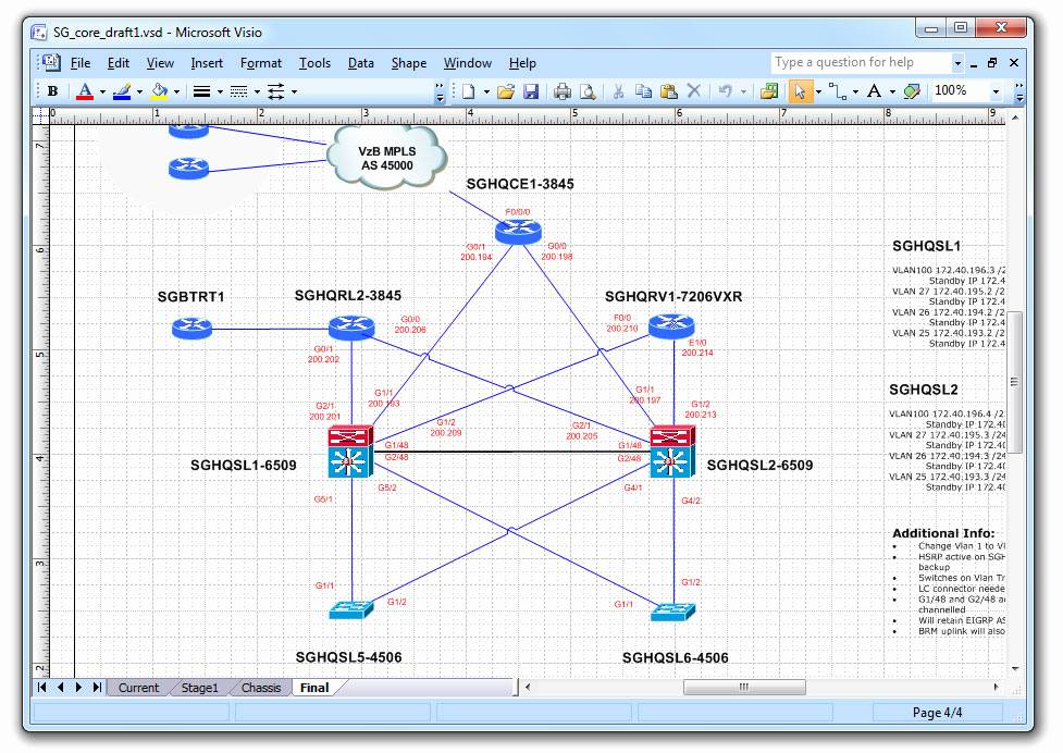 Visio Network Diagram Stencils Free