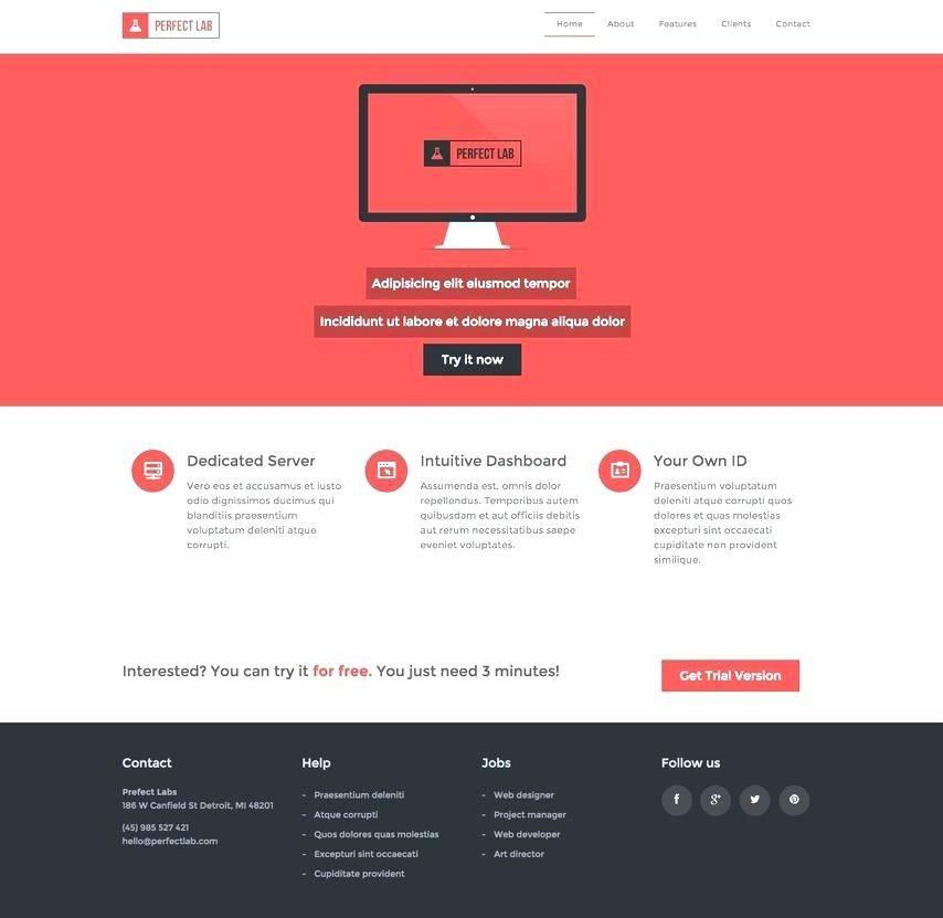 Web Design Templates For Dreamweaver