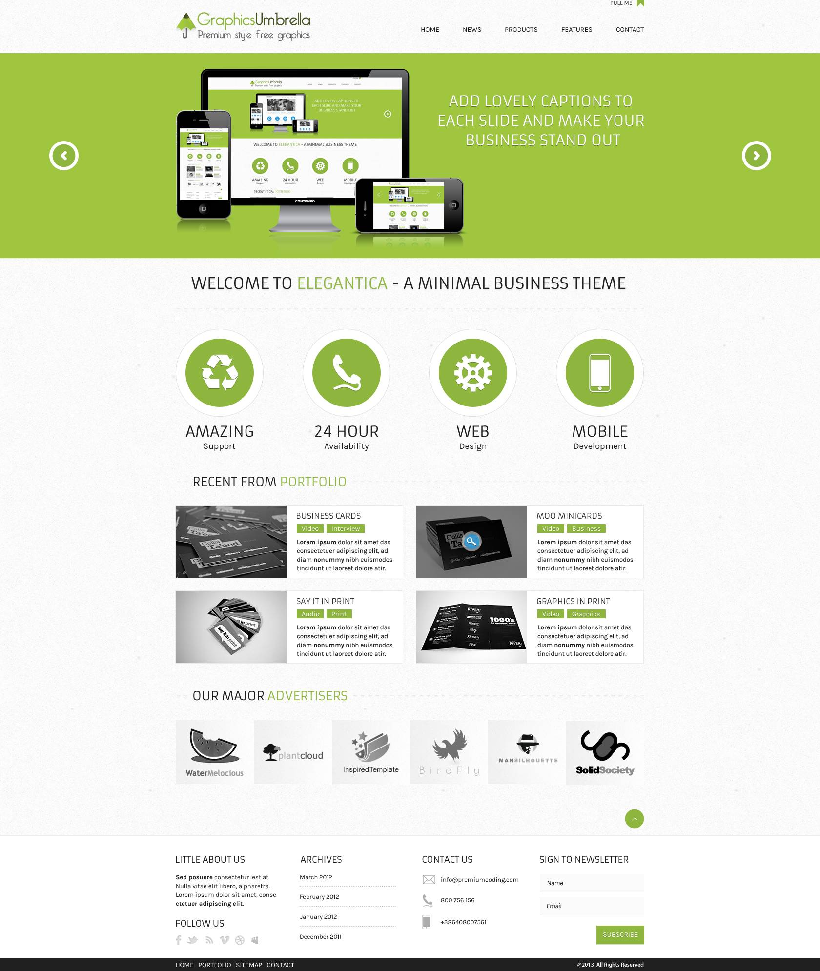 Website Design Templates Psd Free Download - Templates #148022