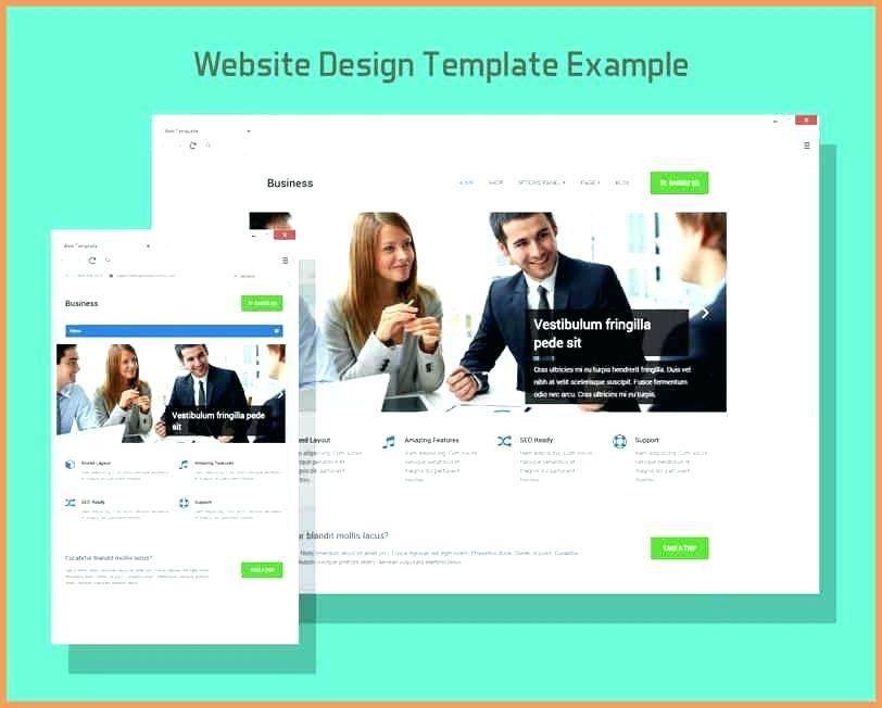 Website Template Perspective Mockup Psd