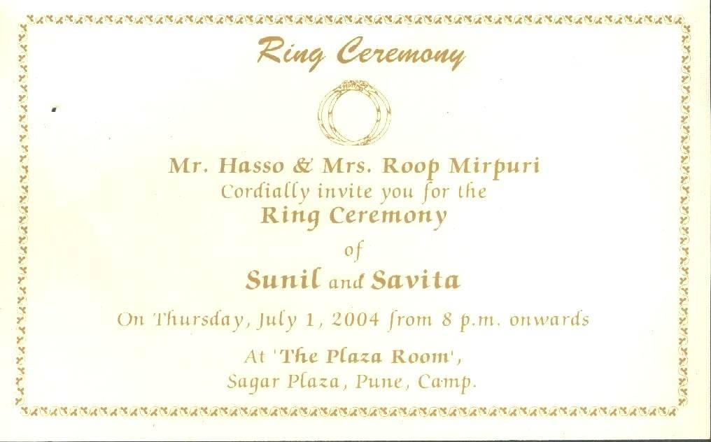 Wedding Ceremony Program Wording