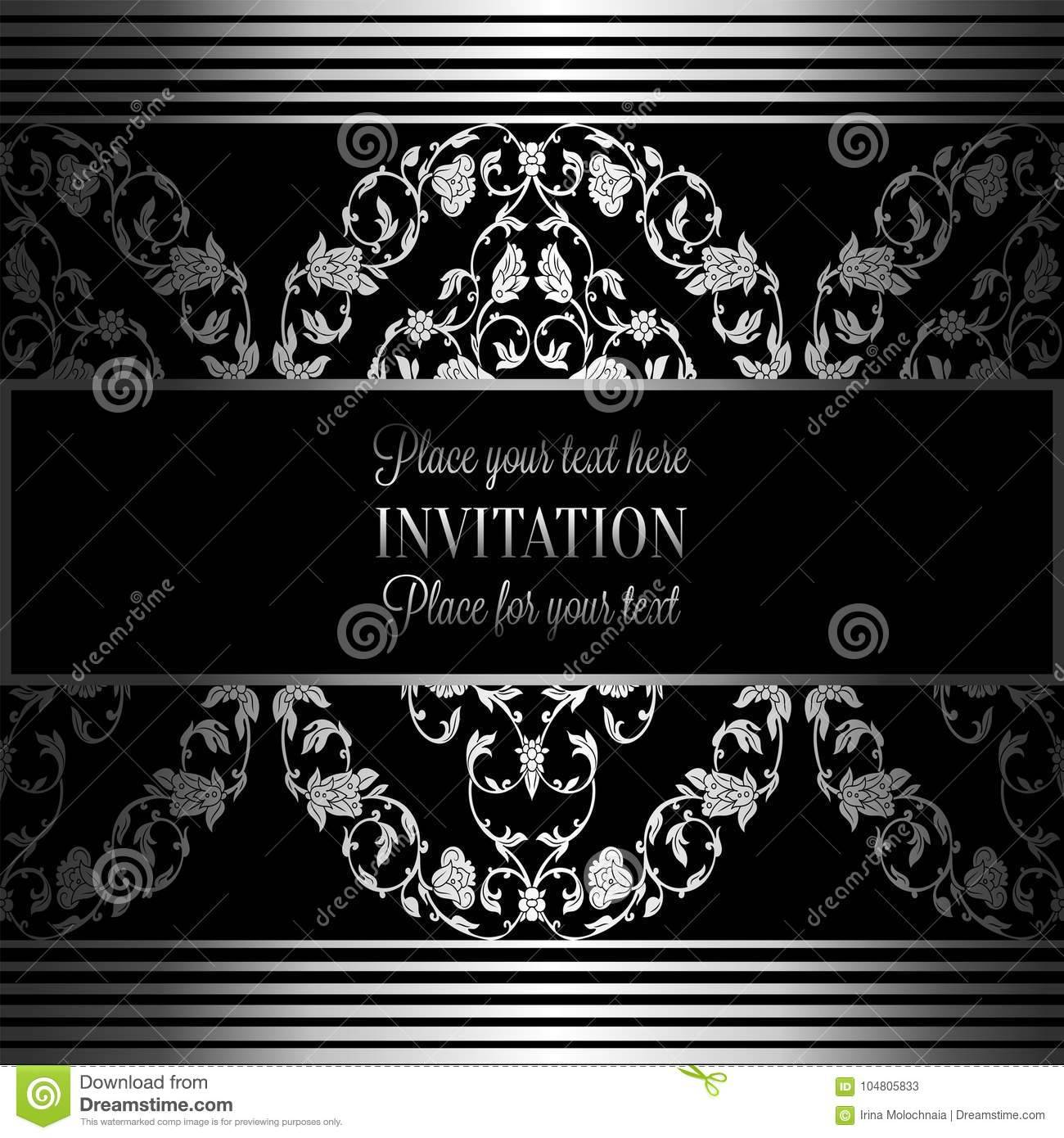 Wedding Invitation Booklet Template