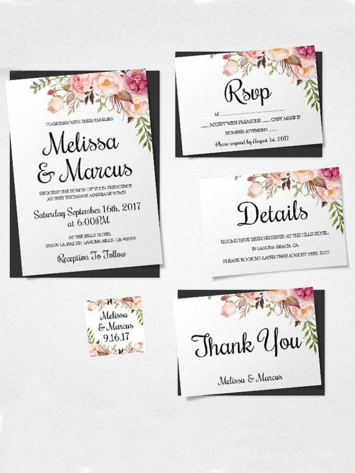 Wedding Invitations Templates Australia