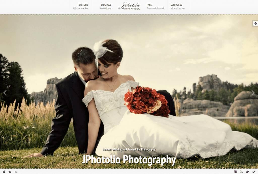 Wedding Photography Templates Wordpress