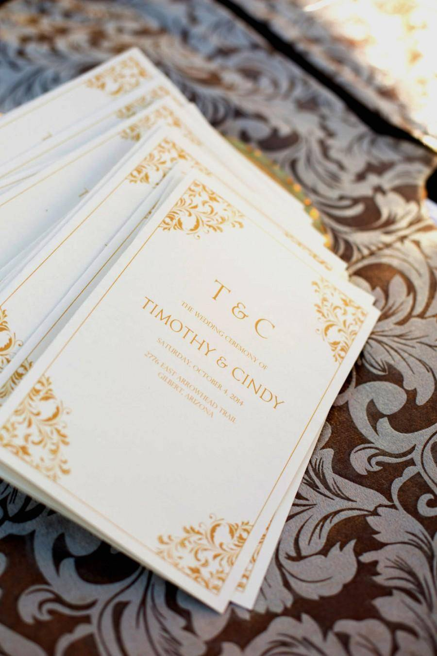 Wedding Program Templates .docx