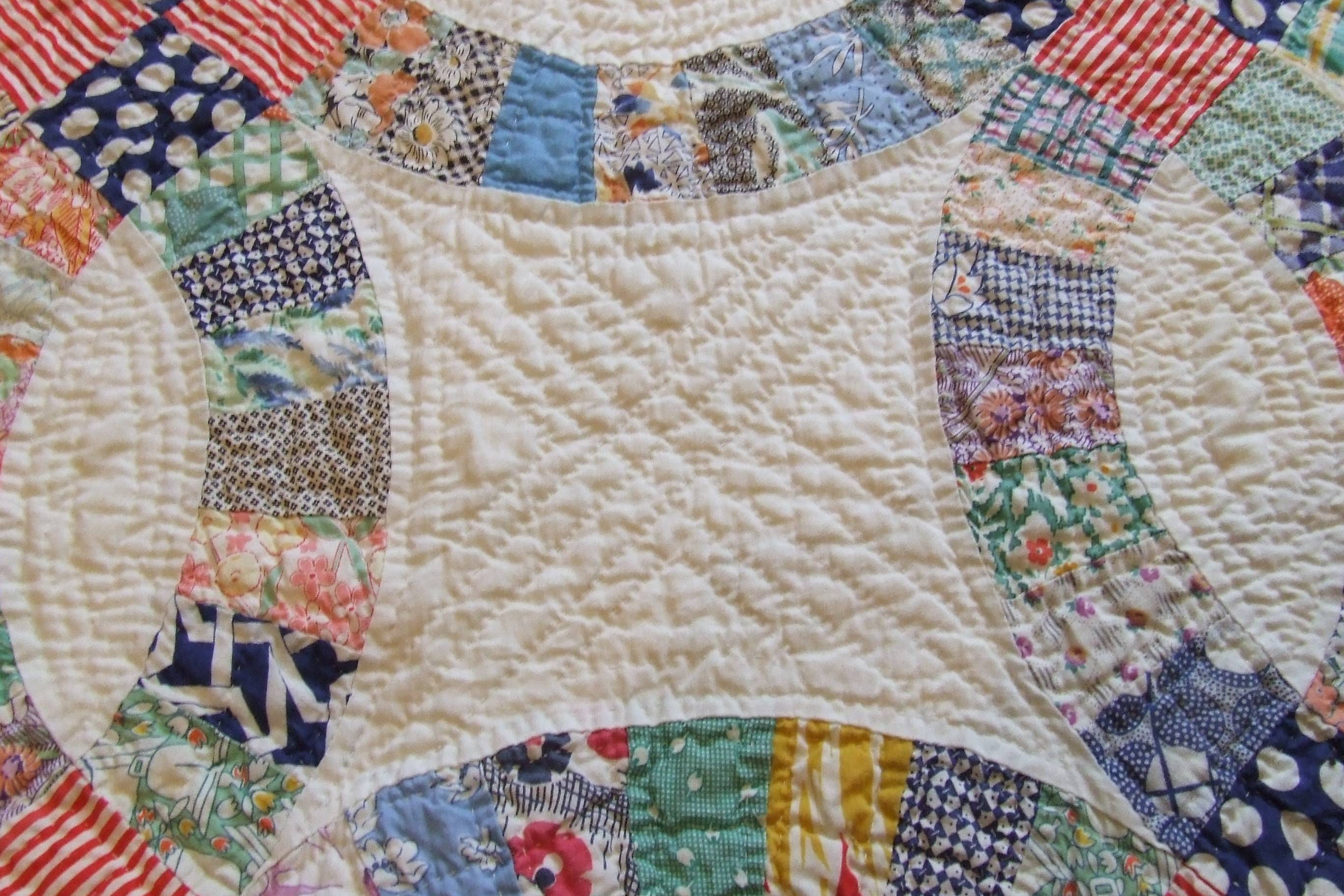Wedding Ring Quilt Pattern Pictures