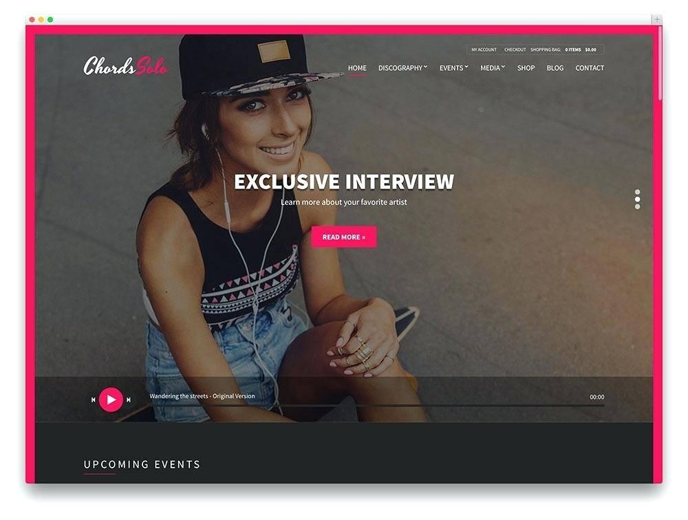 Wordpress Music Templates Free