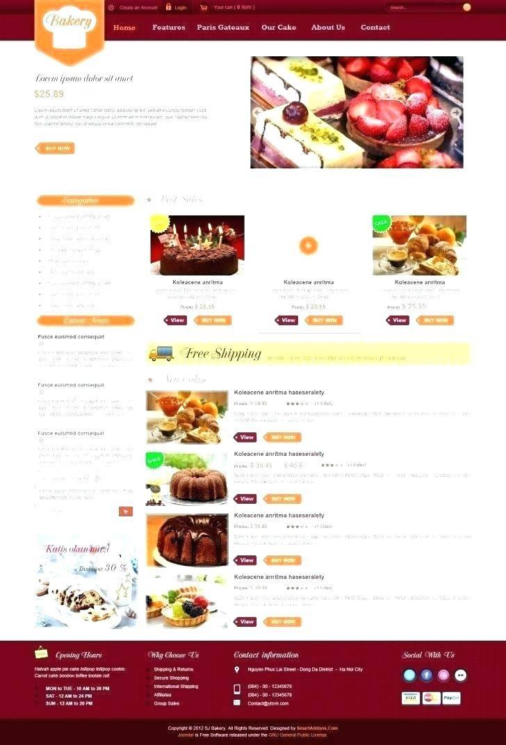 Wordpress Shopping Cart Website Template
