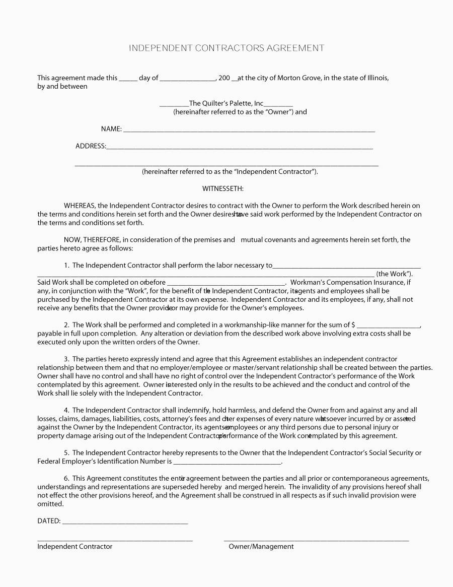 Work Contract Template Germany