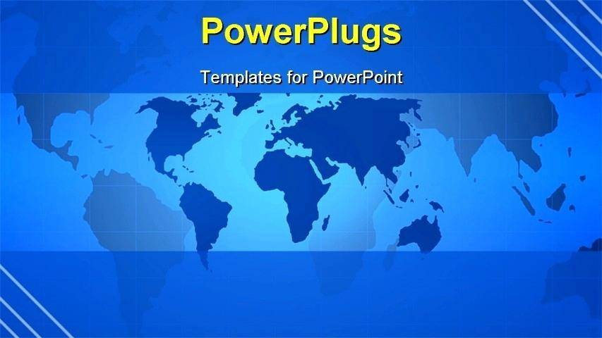 World Map Powerpoint Templates Free Download