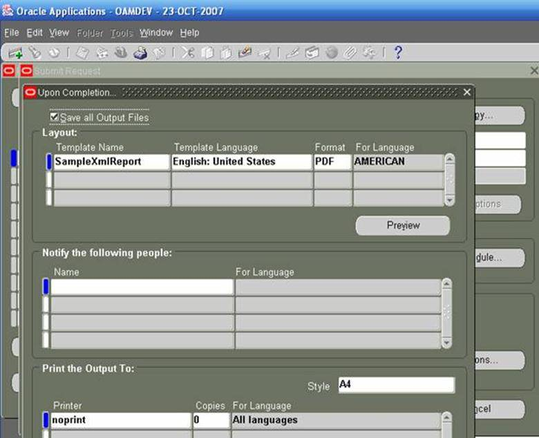 Xml Publisher Template Re Generator