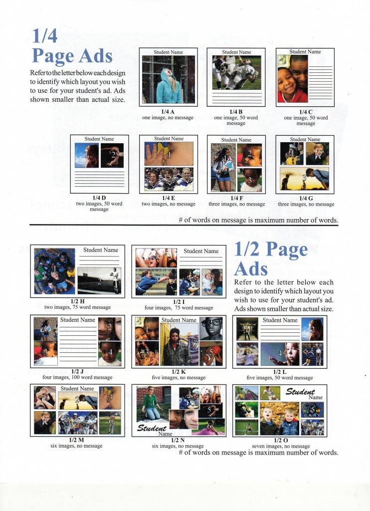Yearbook Layout Templates