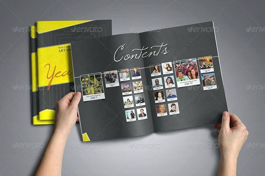 Yearbook Page Templates Indesign